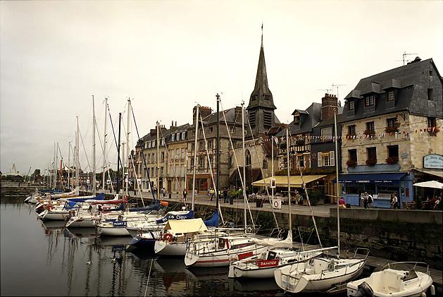 Honfleur - přístaviště