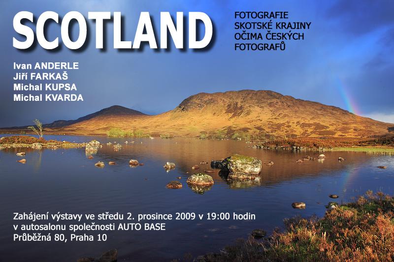 Výstava Skotsko - pozvánka