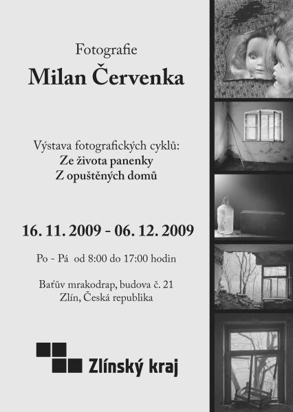 Milan Červenka - pozvánka